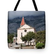 Church Of St.mark Makarska Tote Bag