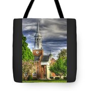 Church Of The Abiding Presence 1a - Lutheran Theological Seminary At Gettysburg Spring Tote Bag