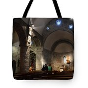 Church Of The Assumption Of Mary In Bossost Tote Bag