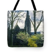 Church Of The Blessed Mary Tote Bag