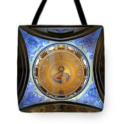 Church Of The Holy Sepulchre Catholicon Tote Bag