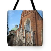 Church Of The Holy Trinity In Krakow Tote Bag