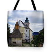 Church Of The Mother Of God Tote Bag