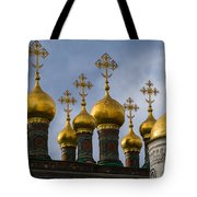 Church Of The Nativity Of Moscow Kremlin Tote Bag