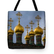 Church Of The Nativity Of Moscow Kremlin - Square Tote Bag
