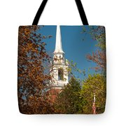 Church Of The Redeemer  From The Lexington Battlefield Tote Bag