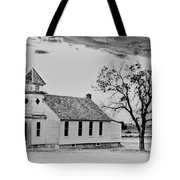 Church On The Plains Tote Bag