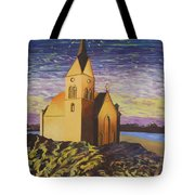 Church On The Rocks.  Tote Bag