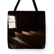 Church Pews Tote Bag