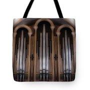 Church Pipes Tote Bag