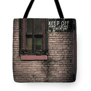 Church Property Tote Bag