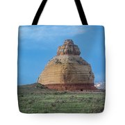 Church Rock On The Road To Moab Tote Bag