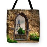 Church Ruins In Boppard Germany Tote Bag