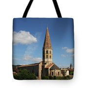 Church Saint Marcel - Cluny Tote Bag