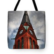 Church Spire Hdr Tote Bag