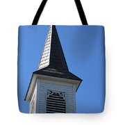 Church Steeple In Buckley Washington Tote Bag
