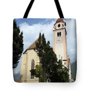 Church Village Tirol Tote Bag