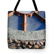Church Window Detail Tote Bag