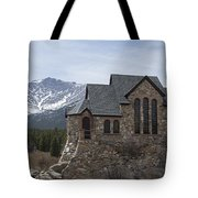 Church With A View Tote Bag