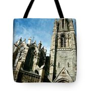 Church With An Eerie Feel Tote Bag