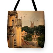 Churches In Town Tote Bag