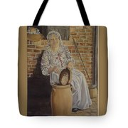 Churning Butter Tote Bag