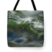 Churning Waters Tote Bag