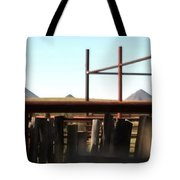 Chute And Buttes 16108 Tote Bag