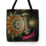 Cicular Logic Overwhelmed Tote Bag