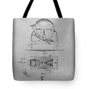 Cider Mill Patent Drawing Tote Bag