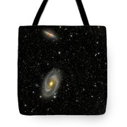Cigar Galaxy And Bodes Galaxy Tote Bag