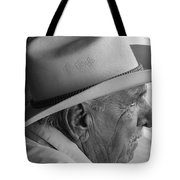 Cigar Maker Remembering His Past Tote Bag by Rene Triay Photography