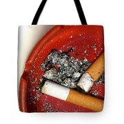 Cigarette Butts Tote Bag