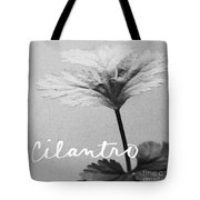 Cilantro Tote Bag by Linda Woods