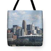 Cincinnati Cityscape Tote Bag