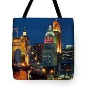 Cincinnati Close Up Tote Bag