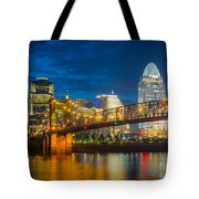 Cincinnati Downtown Tote Bag