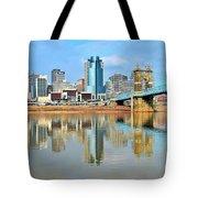 Cincinnati Reflects Tote Bag