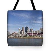 Cincinnati, Ohio Panorama Tote Bag