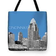 Cincinnati Skyline 1 - Slate Tote Bag