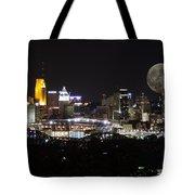Cincinnati With The Moon 2 Tote Bag
