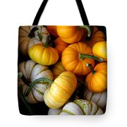 Cinderella Pumpkin Pile Tote Bag by Kerri Mortenson