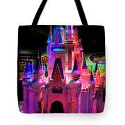 Cinderellas Castle Number One Tote Bag