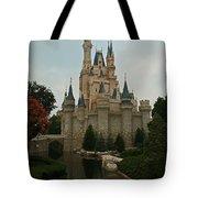 Cinderella's Castle Reflected Tote Bag