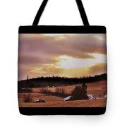 Cinema Sunset Tote Bag