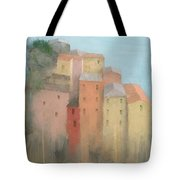 Cinque Terre Tote Bag by Steve Mitchell