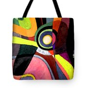 Circle Abstract #4 Tote Bag