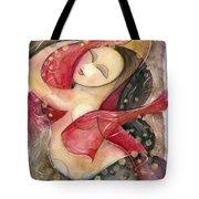 Circle Dancer Tote Bag by Jen Norton