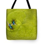 Circle Of Flies Tote Bag