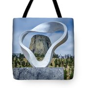 Circle Of Sacred Smoke  Tote Bag